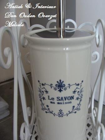 Bestel wc borstel houder 39 le savon de ma maison 39 bij den ouden overzet uit melsele den ouden for Decoratie wc