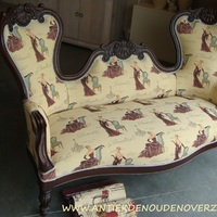 Opnieuw stofferen van uw antieke zetels, stoelen en fauteuils, Antiek & Landelijk Interieur Den Ouden Overzet, Melsele