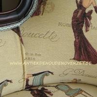 Opnieuw stofferen van uw zetels, stoelen en fauteuils, Antiek & Landelijk Interieur Den Ouden Overzet, Melsele