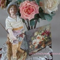 Romantiek met biscuit, Antiek & Interieur Den Ouden Overzet, Melsele