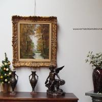Antieke decoratie in een landelijk interieur, Antiek & Interieur Den Ouden Overzet, Melsele