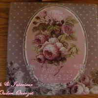 """Pottenplankje """"Mille Roses de Paris"""""""