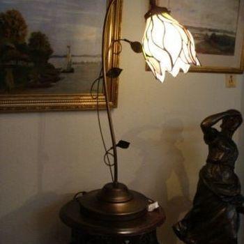 Tafellamp tiffany 8839, bloem
