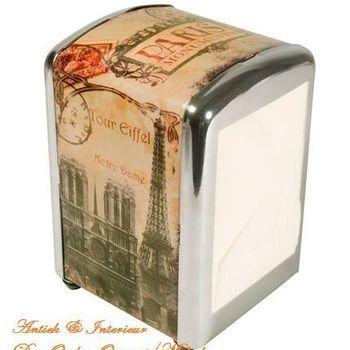 "Servet verdeler ""Paris Monuments"""