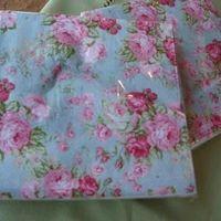 """Servetten papier """"Roses"""""""