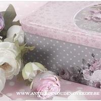 "Suikerdoos ""Mille Roses de Paris"""