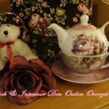 """Thea-for-one setje """"Mille Roses de Paris"""""""