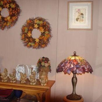 Halloween en Herfst : Boyds Home coll., herfstkrans.