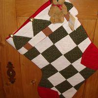 Kerst : Boyds Home Coll. kerstkous groen.