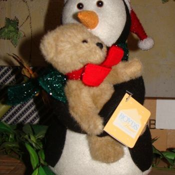 Boyds Home Coll. (kerst) Wally and Hugs.