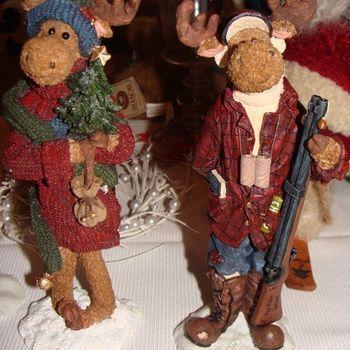 Kerst : Boyds, The Moose Troop, Milton G. Mooselspruce.