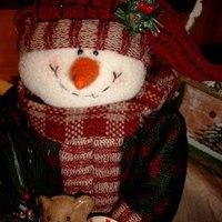 Kerst : De bolle sneeuwman.