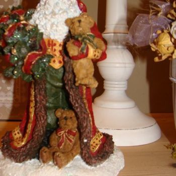 Kerstman Boyds Holiday Coll., S.C. Jinglebeary.