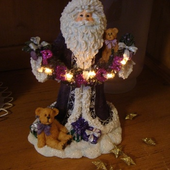 Kerst : Kerstman Boyds Holiday Coll., St Nicholas.