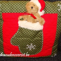 Kerst : Kussen Boyds Home Coll. beertje.