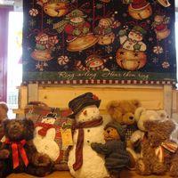 Kerst : Susan Winget wandtapijtje Jingle Bells.