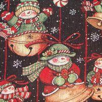 Susan Winget wandtapijtje Jingle Bells.