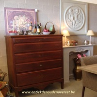 Commode Scandinavie, geschilderd.