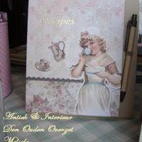 """Receptenboekje """"Nostalgia"""""""