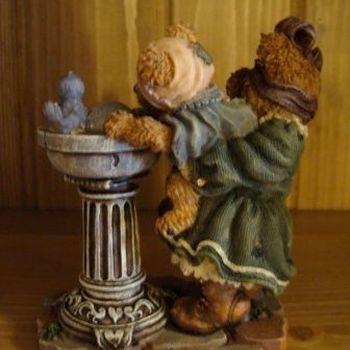 Stoneware : Sissy & Squirt... big Helper, Lil'Slipper