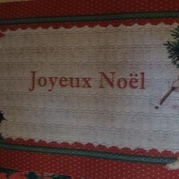 """Deurmat """"Joyeux Noel"""""""