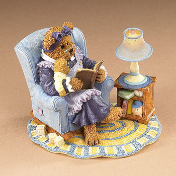 Stoneware : Nanny and Tristan... Bedtime story