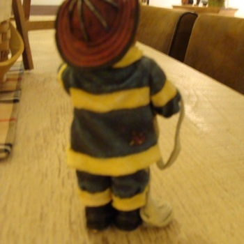 Stoneware : Fireman Frank