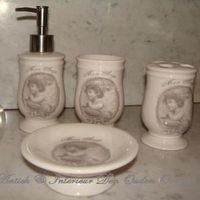 "Bathroom set ""Mon Ange"""