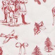 """Tafelrunner """"Nostalgie Christmas time"""""""