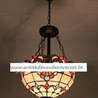 Plafondlamp tiffany, Art Deco DOO1710/023