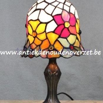 Tafellamp tiffany, bloemenpracht DOO1710/086
