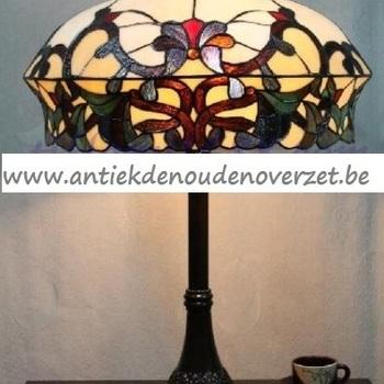 Tafellamp tiffany, bonnetmodel DOO1710/151