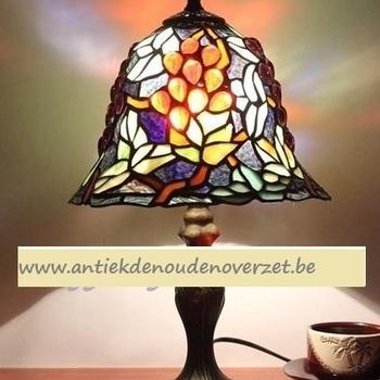 Tafellamp tiffany, druifjes DOO1710/106