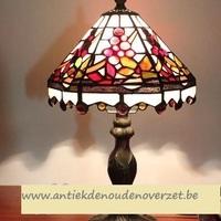 Tafellamp tiffany, pareltjes in overvloed DOO1710/096