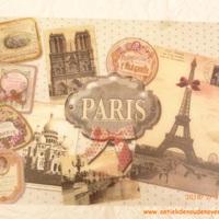 """Placemat """"Paris Poudrée"""""""