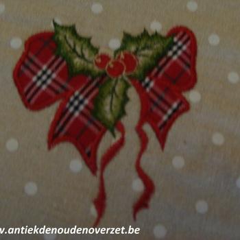 "Tafeldoek ""Kerst strik"""