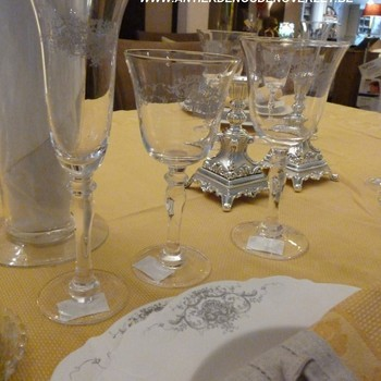 "Servies ""Marquise"", champagnefluit"