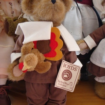 """Pluche : """"Alden Harvestbeary with Giblet"""""""
