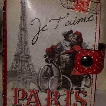 "Kaarthouder ""Paris je t'aime"""