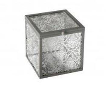 """Doosje """"Précieuse carré verre"""""""