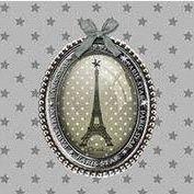 "Handtas/urban bag "" Paris Star"""
