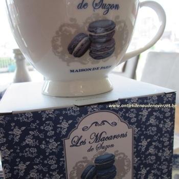 "Tas/kom XL ""Les Macarons de Suzon"""