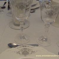 "Servies ""Marquise"", wijnglas"