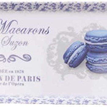 """Dienblaadje/tray, medium """"Les Macarons de Suzon"""""""