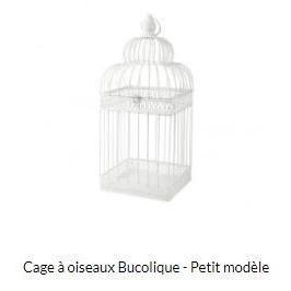 """Vogelkooi """"Bucolique"""" klein, Véranda collectie"""