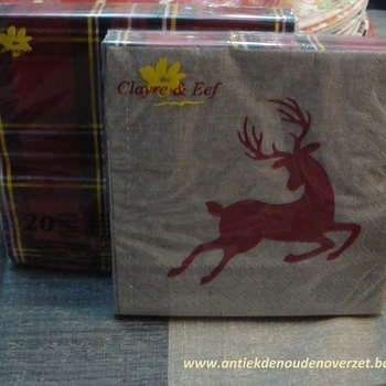 """Servetten papier """"Reindeer"""""""