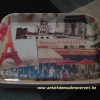 "Dienblaadje/tray, klein ""Bistro Parisien"""