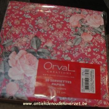 """Servetten papier """"Roses Bouquet"""""""