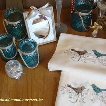 "Tafeldoek ""Birds"""