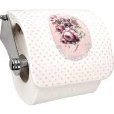 """WC rolhouder """"Mille Roses de Paris"""""""